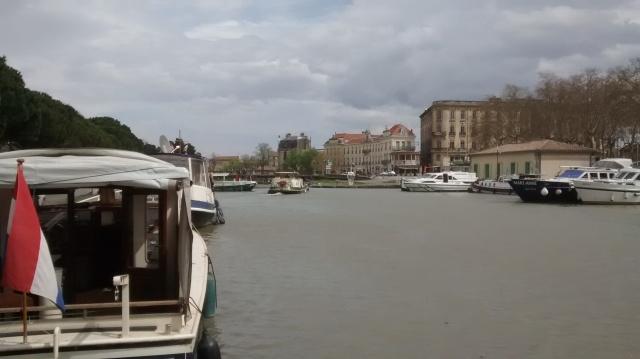Leaving Port. La Belle Helene.